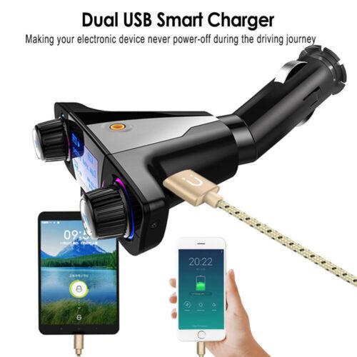 Hands Free Bluetooth FM Transmitter Auto MP3 Player USB Stick KFZ Micro SD CARD