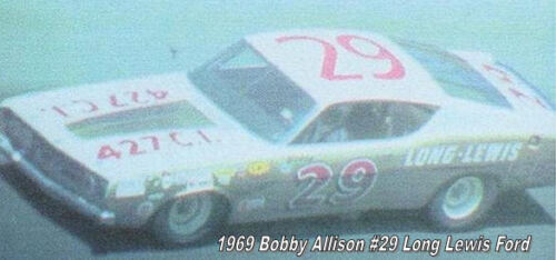 CD/_896 #29 Bobby Allison 1969 Long Lewis Ford  1:64 scale decals  ~OVERSTOCK~