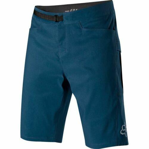 MTB Shorts with INNER PANTS /& PADS NAVY Downhill Fox Ranger Short