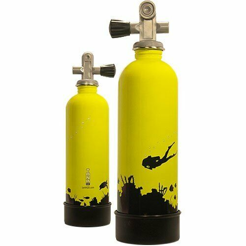 Stainless Steel Novelty Drinking Water Bottle Decorative Scuba Diving Tank D688