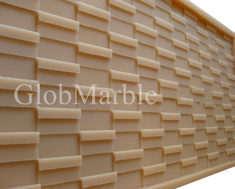 Beton Gussform Mosaik Kachel Ms 861. Wand Fliesen Beton Gummi Form