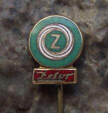 Zetor Tractors Brno Czechoslovakia Agricultural Farming Machines Farm Pin Badge