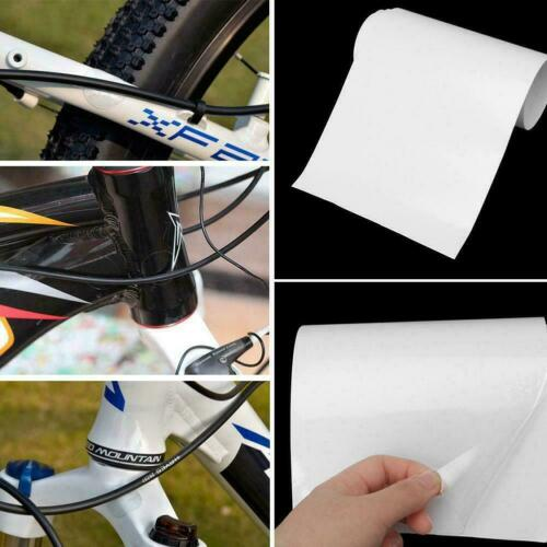 Bike Bicycle Clear Protective Film Frame  Protector Wear Protection Surface S3E5
