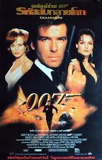 James Bond 007 GOLDENEYE original Thai Plakat Poster 86 x 56 cm gerollt