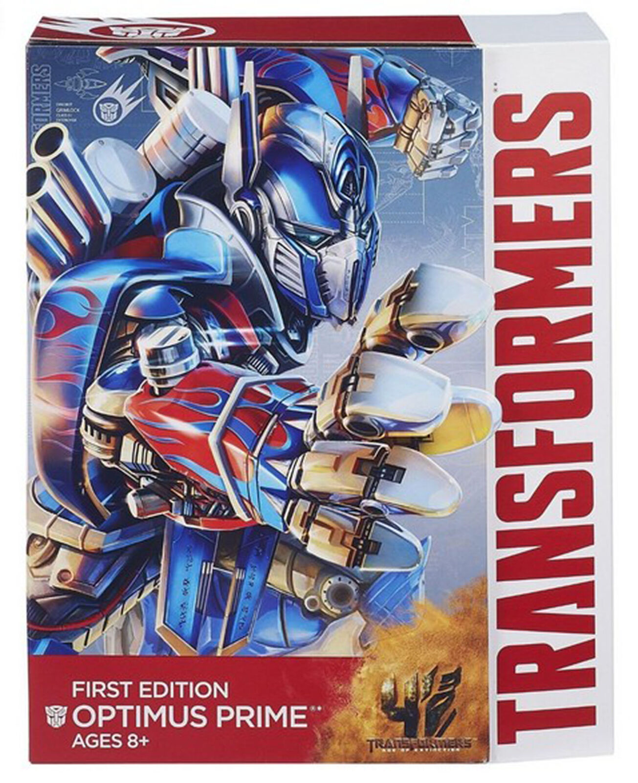 Transformers 4 Age of Extinction  FIRST EDITION OPTIMUS PRIME Collection Gift
