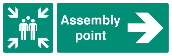 Sign Assembly Point Rght Aluminium - 62143H