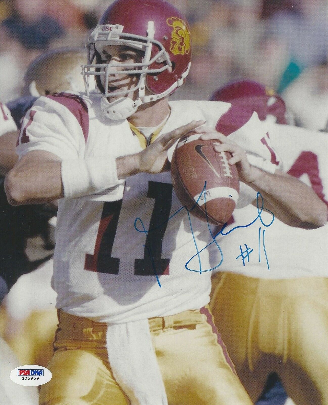 Matt Leinart USC Trojans signed 8x10 photo PSA/DNA #G05959