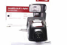 Metz Mecablitz 44 AF-1 digital f. Nikon WIE NEU / LIKE NEW