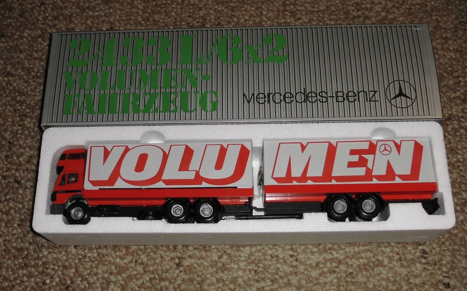 NZG 336 Mercedes-Benz Volumenfahrzeug 2433 - OVP - Made in Germany