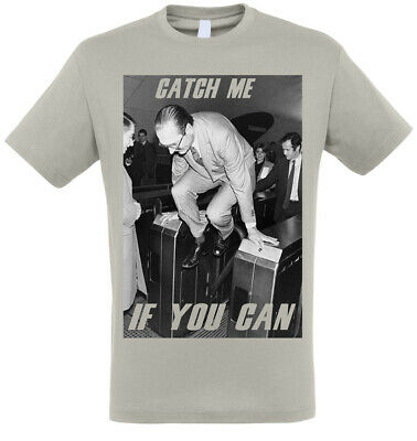 T-SHIRT JACQUES CHIRAC metro CATCH ME IF YOU CAN blanc //// TAILLE-SIZE S-M-L-XL