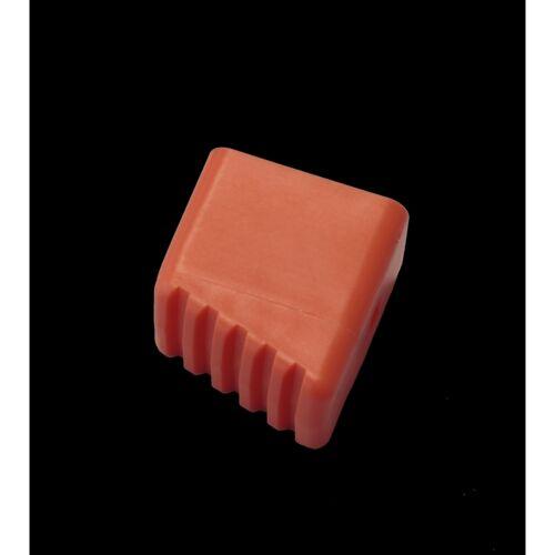 KRAUSE MONTO Fußkappe (Paar), orange, Holmgröße 33x20 mm, 211101