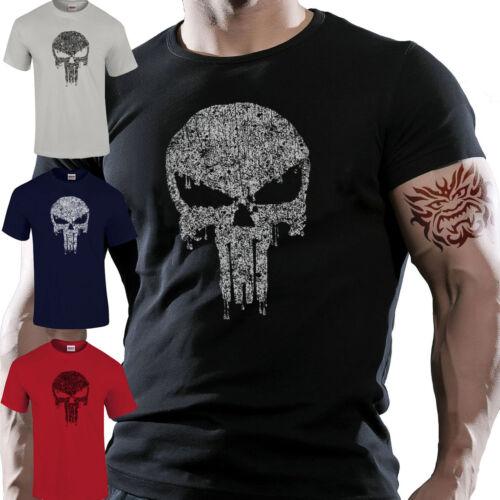 MMA UFC Sports Punisher Gym Training Lifting Motivation Premium T-Shirt S-5XL