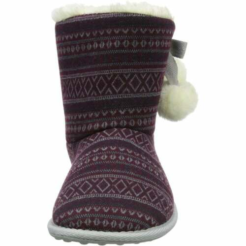 Women/'s Rocket Dog Snowflake Bootie Slippers Insulated Slip Resistant Assorted