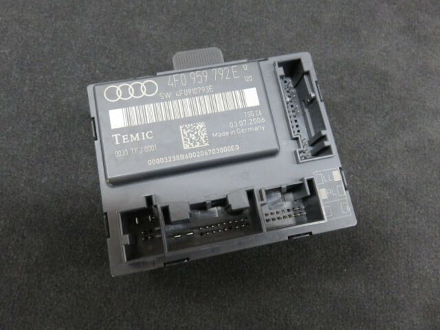Audi A6 4f Unidad de Control de la Puerta Frontal Derecho Iluminación Ambiental