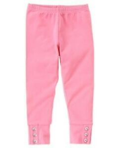 GYMBOREE-FAIRY-WISHES-PINK-BUTTON-CROP-LEGGINGS-3-5-6-7-8-9-NWT