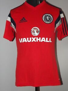 2014 Scotland Training Excellemt Adidas (S) Shirt Jersey Trikot Camiseta Maglia