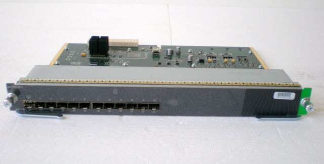 Cisco ws-x4612-sfp-e Line Card E-Series 12 x Gigabit SFP-Slot fonction examiné