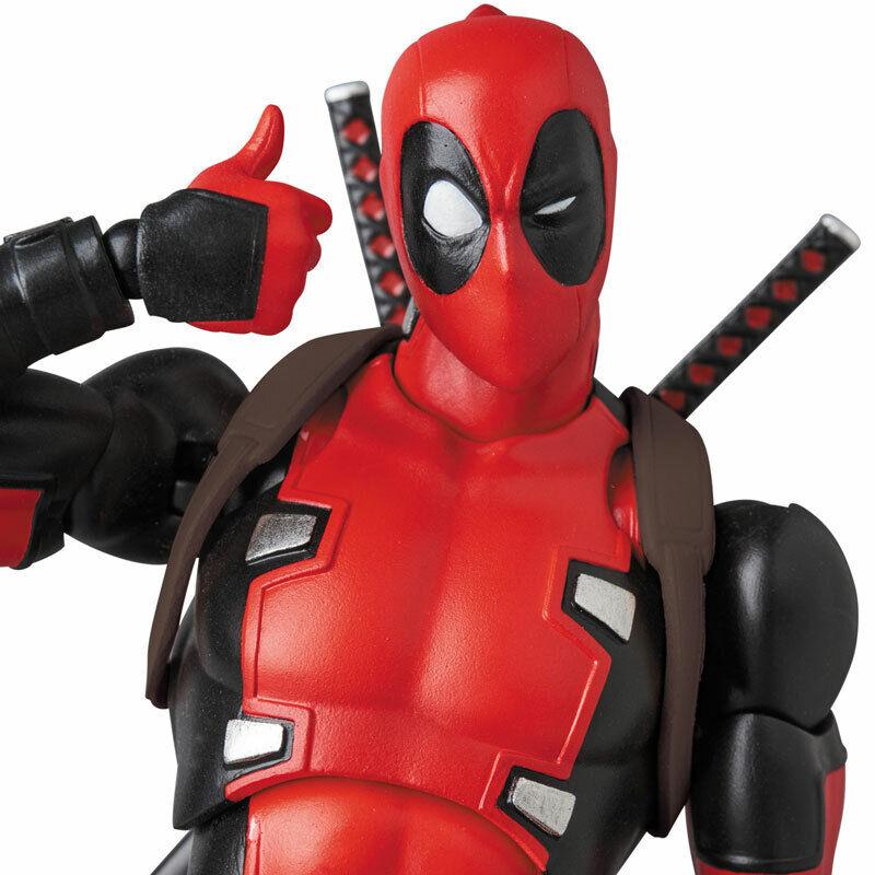 MAFEX Deadpool No.082 Gurihiru Arte Ver. Medicom Juguete Japón nuevo (en Stock)