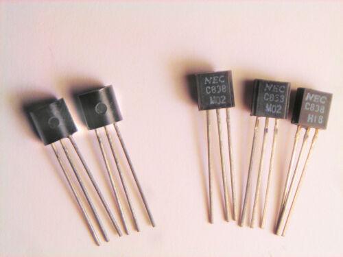 "2SC838  /""Original/"" NEC Transistor 5 pcs"
