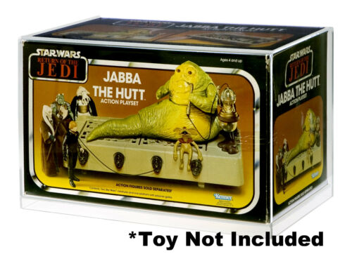 Jabba The Hutt Action Playset Display Case Star Wars
