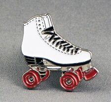 Metal Enamel Pin Badge Brooch Roller Skate Skater Roller Derby Foot Shoe Skating