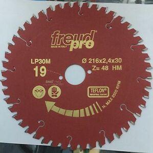 Freud-LP30M019-216x2-4x30-Pro-Ind-Lama-Circolare-per-macchine-portatili