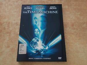 THE-TIME-MACHINE-GUY-PEARCE-J-IRONS-DVD-SNAPPER-RARO-FUORI-CATALOGO