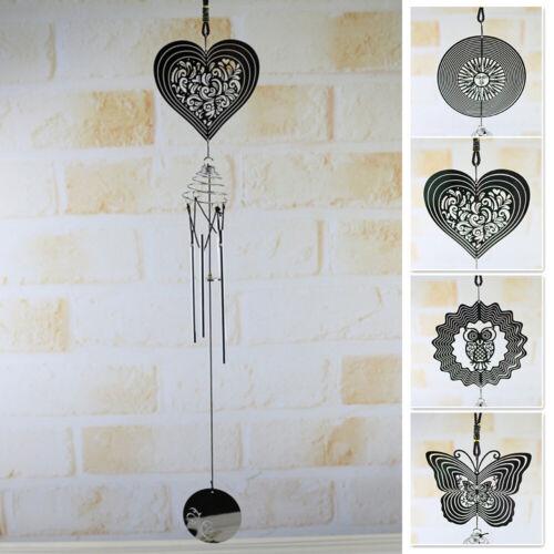 Wandbehang Spinner Deko Spiral Drehbar Windspiele Anhänger Heim Garten Dekor