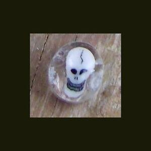 Skull millefiori murrini 10 gm pyrex boro mille millifiori murrine millie