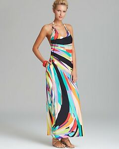 d1ef08e938f8e NWT  148 Sz L Large Trina Turk Prisma Long Maxi Beach Cover Dress ...