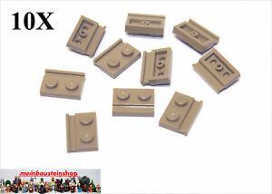 10x LEGO® 3666 1x6 Platte dunkelbeige NEU dark tan LEGO Bausteine & Bauzubehör Baukästen & Konstruktion