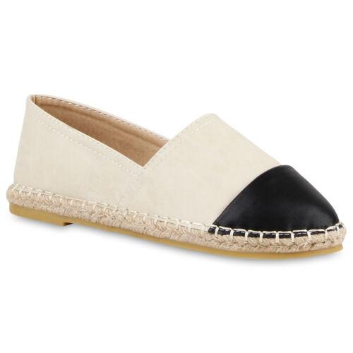 Modische Damen Bast Slipper Bequeme Espadrilles Sommer Schuhe 811185 Top