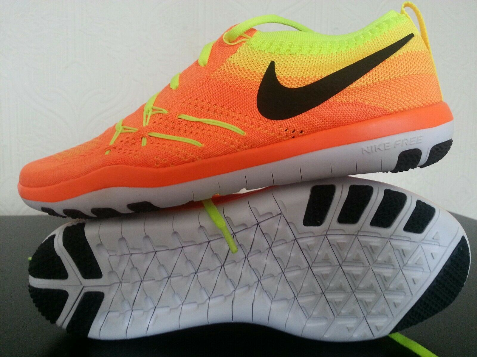 Brand New Nike Femme Free TR Focus Flyknit Tailles UK 4