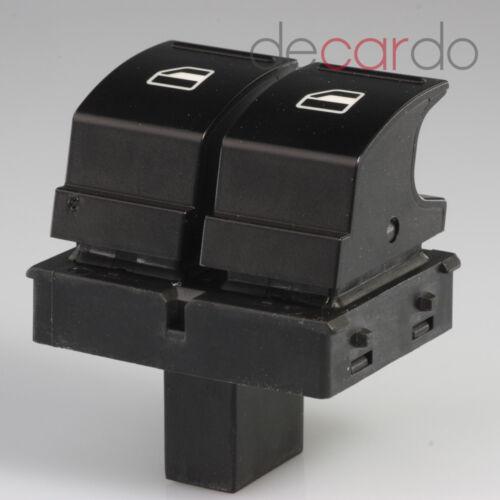 Fensterheberschalter Knopf Taste Vorne Links für VW Caddy 3 Kasten Kombi