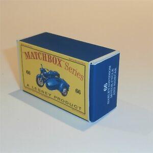 Matchbox-Lesney-66-b-Harley-Davidson-Motorcycle-empty-Repro-D-style-Box