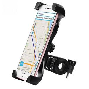 Neue-Universal-Motorrad-Fahrrad-MTB-Lenkerhalterung-Halter-fuer-Handy-GPS-ABS