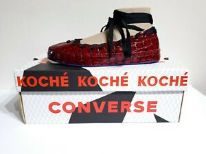 Details about Converse X Koche All Star Rina Ballerina Ballet Flats Burg Rhubarb Ivory SZ 8.5