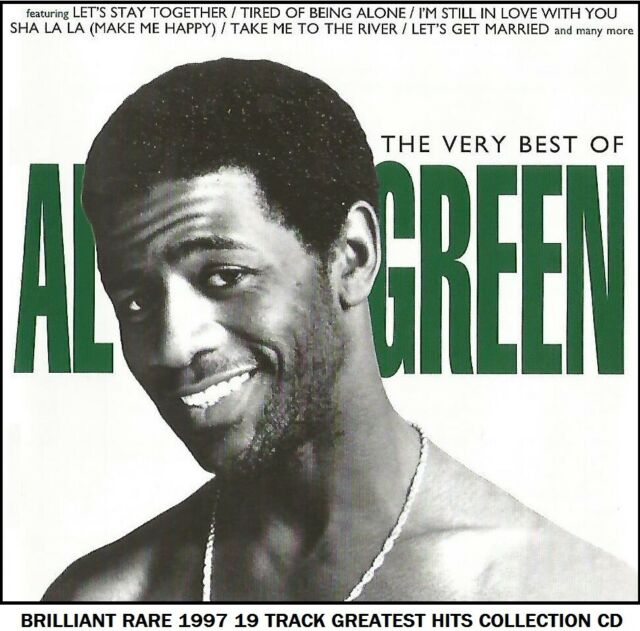 Al Green - The Very Best Greatest Hits Collection RARE 1997 CD 70's Soul Music