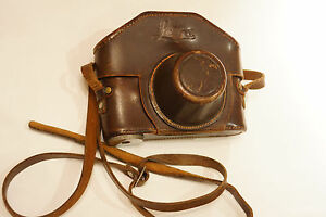 rare leather case for Leica camera .