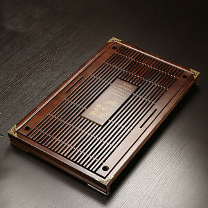 Solid-Wood-Tea-Tray-Drainage-Water-Storage-Kung-Fu-GongFu-Tea-Table-Serving-Tray