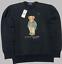 miniatuur 5 - Brand-New-Mens-Ralph-Lauren-Teddy-Bear-Sweatshirt-039-s