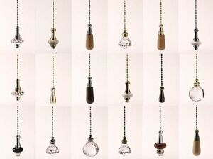 large selection of light pulls with chains chrome brass antique brass ebay. Black Bedroom Furniture Sets. Home Design Ideas
