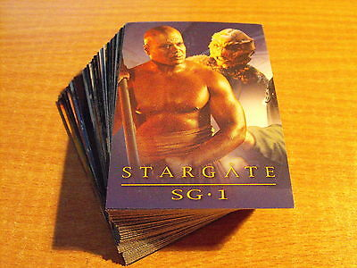 STARGATE SEASON FOUR COMPLETE BASIC SET OF 72 CARDS