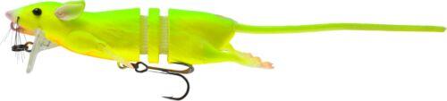 "11 3//4/"" Savage Gear 3D Rat Bait Firetiger 2 1//2oz Floating"