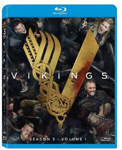 VIKINGS-Stagione-5-VOLUME-1-3-BLU-RAY-SERIE-TV-WARNER-BROS