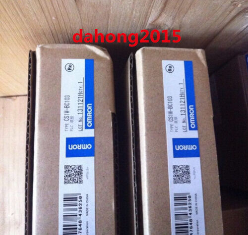 1PC New In Box Omron CS1W-BC103  CS1WBC103