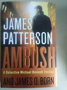 Ambush-by-James-Patterson-Michael-Bennett-Thriller-NEW-hardcover