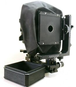 Horseman-LX-4X5-large-format-monorail-camera-5X4-inc-w-a-bellows-EXC-37432