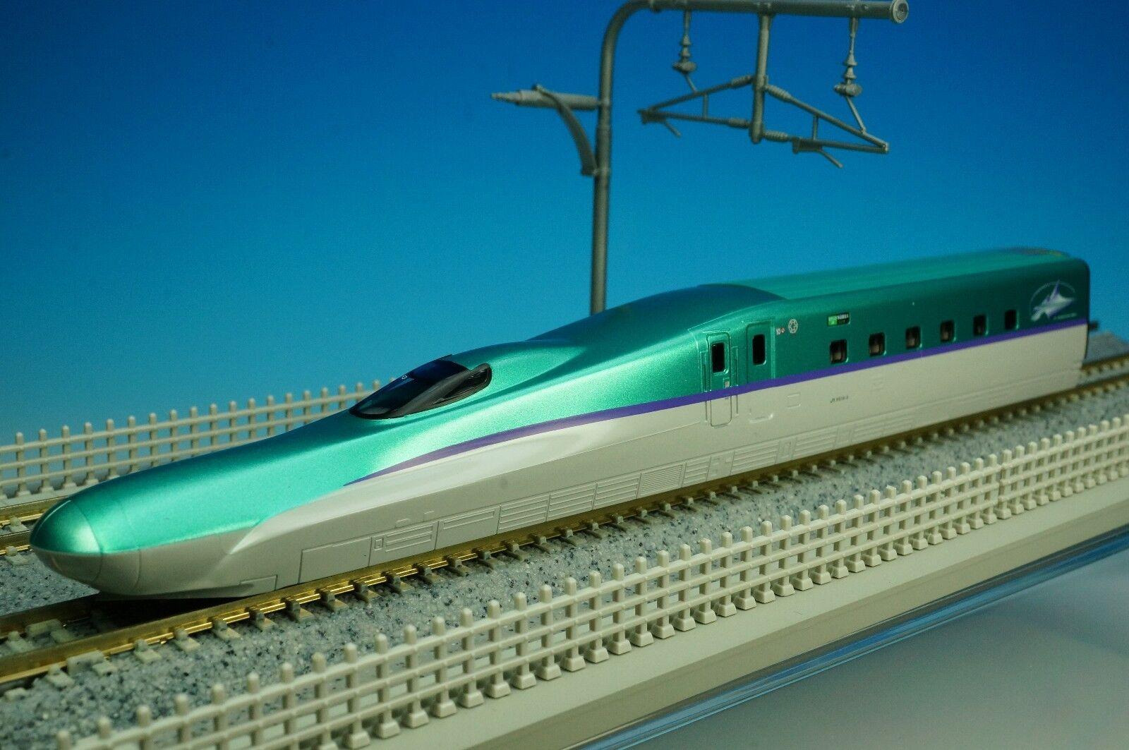 KATO 4837-A JR SHINKANSEN Bullet Train H5 Hokkaido Hayabusa H514-3 H514-3 H514-3 No.10 Car New 5d29f1