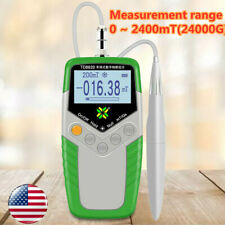 Digital Hand Held Gauss Meter Surface Magnetic Field Tester Magnetic Flux Meter